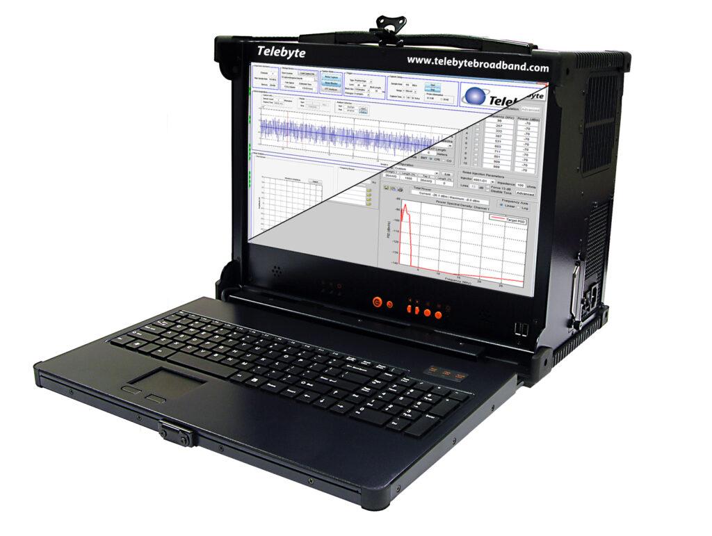 Telebyte Model 4975 SPE Noise Generator & Analyzer for testing Single Pair Ethernet (SPE), including PoDL.