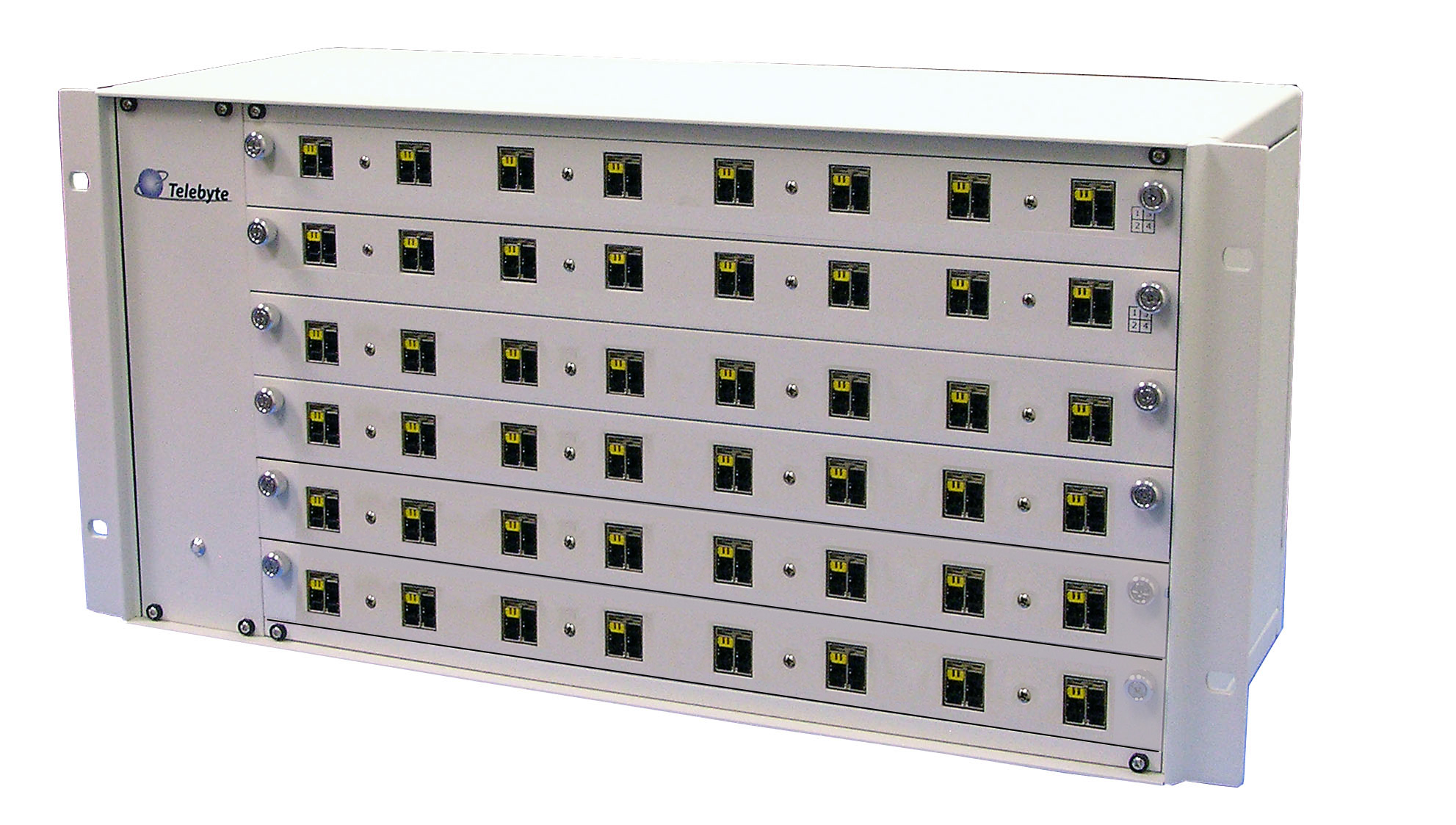 Telebyte Model 600 Switching Matrix Series automates testing of 10BASE-T1L and 10BASE-T1S and supports PoDL.